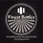 finest bottles black